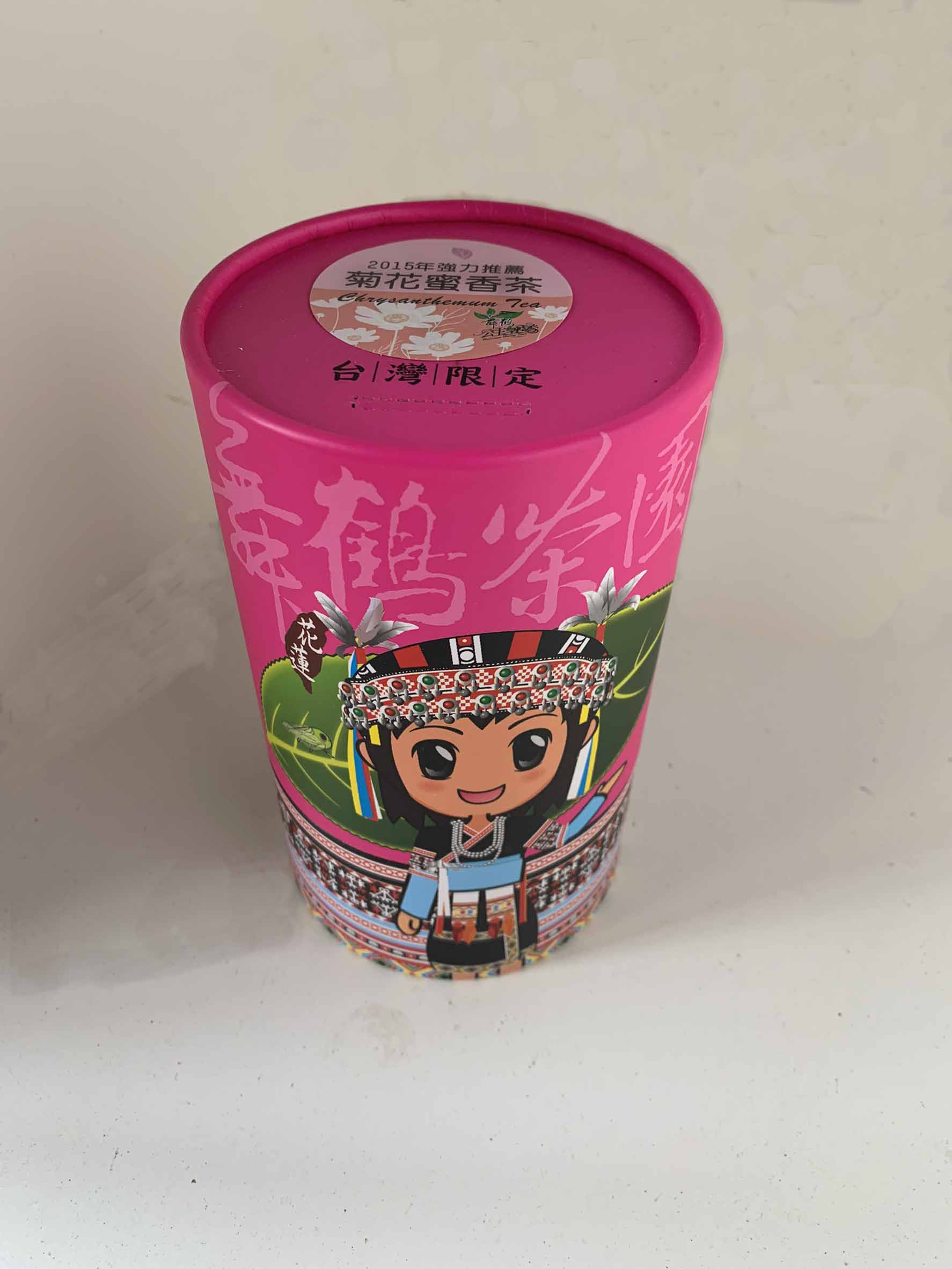 公主菊花蜜香紅茶150g