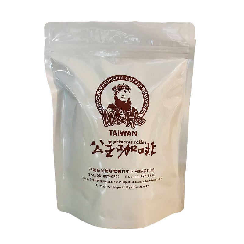 公主部落咖啡豆(新欉)225g*1包