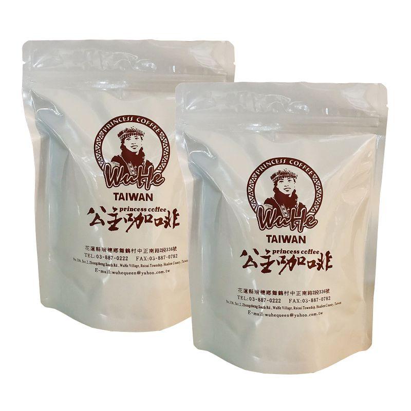 公主部落咖啡豆225g*2包