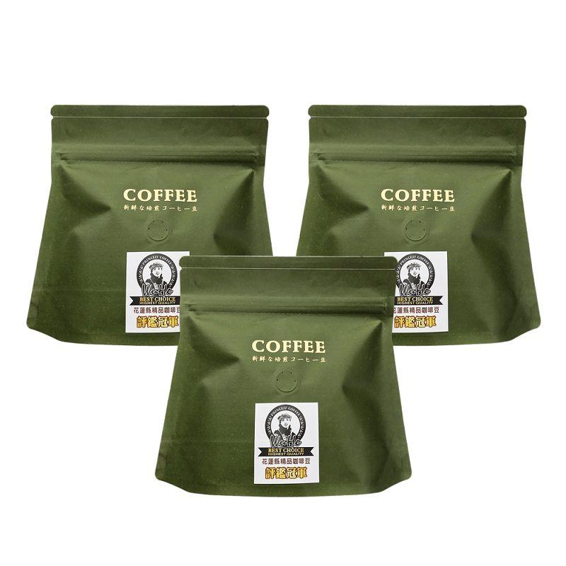 公主部落咖啡豆100g*3